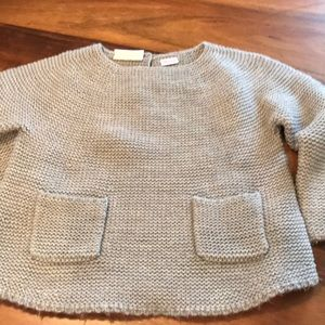 Zara knit sweater size 2-3.